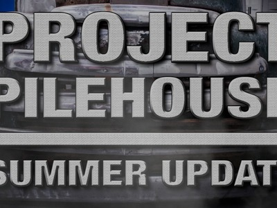 Bead Rolling, Metal Fab & More on Project Pilehouse: Summer Update