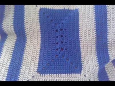 Crochet Rectangle Granny Lapghan