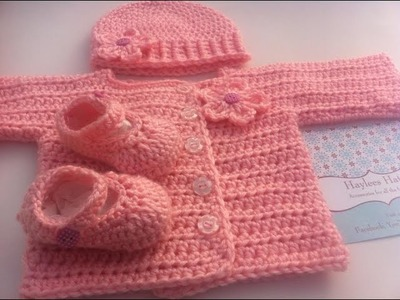Crochet Showcase| Baby sets| Haylees Hats