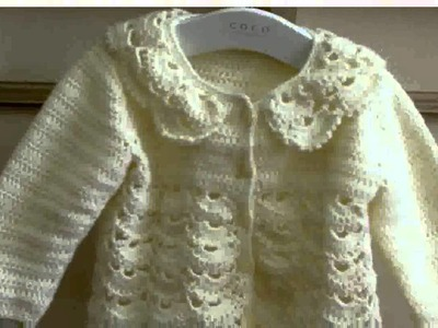 Crochet Toddler Sweater Pattern -  New