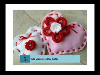 Cute Valentines Day Crafts