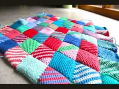 Diamond Stitch Blanket Crochet Pattern