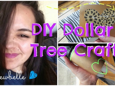 DIY DOLLAR TREE CRAFTS | Channel Swap with Lulewbelle