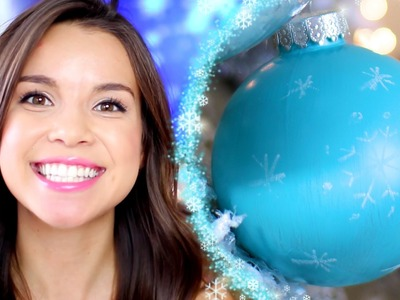DIY Frozen-Inspired Ornament | A missglamorazzi Disney Exclusive