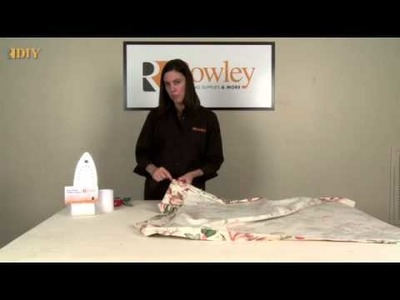DIY-Making Drapery Panels with Buckram Header