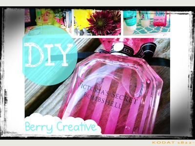 ♡ DIY: Perfume Display and Makeup Tray ♡ My First Video
