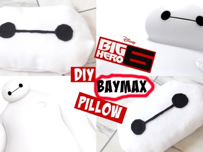 DIY Room Decor • Big Hero 6 • Baymax Pillow (No Sew) • heartcindy