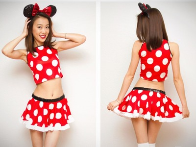 DIY; Sexy Minnie Mouse Halloween Costume