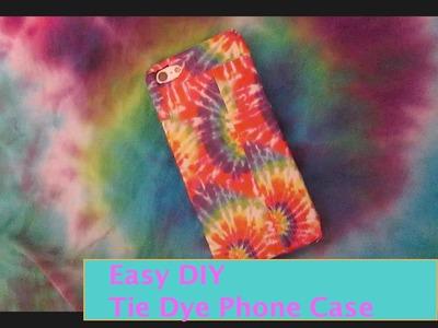 DIY Tie Dye Phone Case!