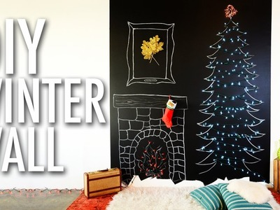 DIY Winter Wall