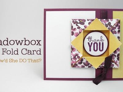 Fun Fold Series: Easy Origami Shadowbox