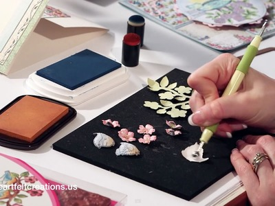 Gatefold Cardmaking, Birds and Blooms flower shaping, New card ideas and more