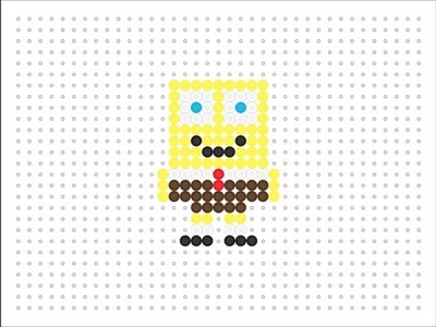 Hama Bead Spongebob (Spongebob Series #1)