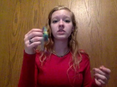 How to crochet a reusable tampon w. stich measurements