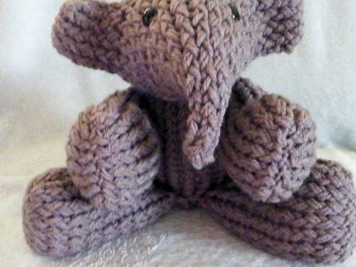 How to Loom Knit an Elephant