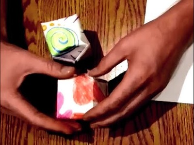 How to make a CHINESE paper WATER BOMB (origami water balloon)