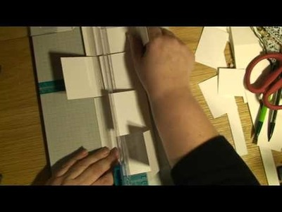 HOW TO MAKE A TEMPLATE FOR A CUBE BOX - paper crafts