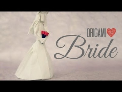 How to make an origami Bride. Wedding (Tadashi Mori)