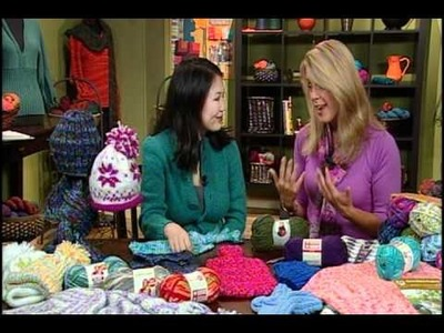 Knitting Daily TV, Episode 601's How-To Segment with Deborah Norville, Premier Yarns