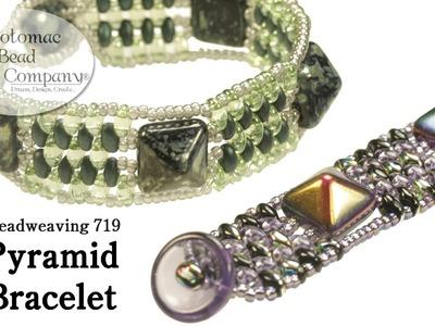 Make a Pyramid Bracelet