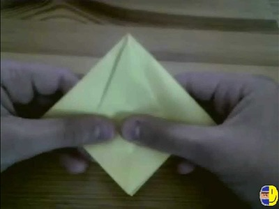 Origami eagle that can sit on your finger
