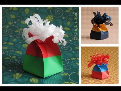 Origami Twist Box Tutorial