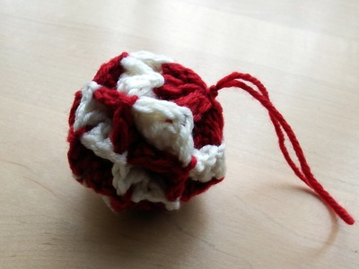 Simple Origami Bauble Crochet Tutorial