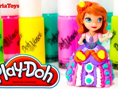Sofia the First Play-doh DohVinci DIY Ornaments Toy Disney Princess Sofia