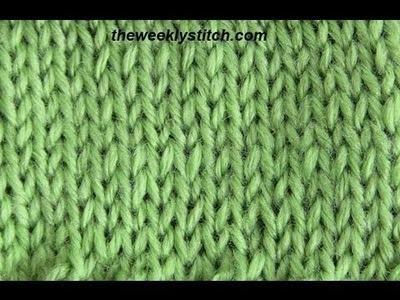 Stockinette or Stocking Stitch