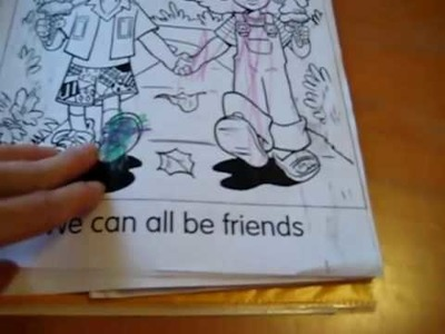 "Teach Kids Good Character: ""Kindness"" folder with stories, crafts, activities and games."