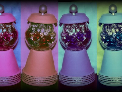 10 DIY Gifts: Gift idea 7 : Candy jar. Fake Bubble Gum Dispenser