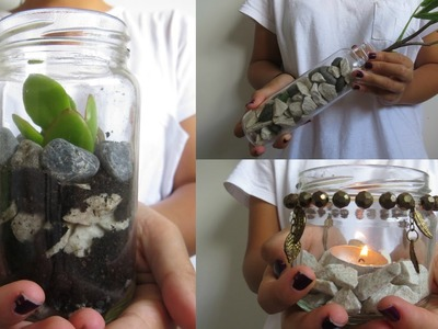 3 Decorative Jar DIY Ideas