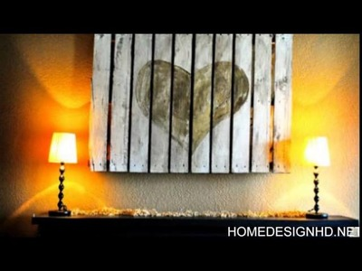 30 Fantastic DIY Pallets Wall Art Ideas