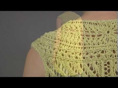 #7 Lace Tunic, Vogue Knitting Spring.Summer 2009