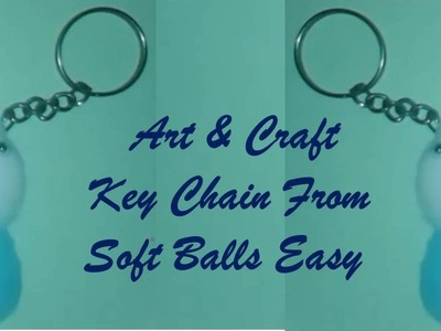 Art & Craft : How to Make Homemade Keychains in Crafts : Craft Idea