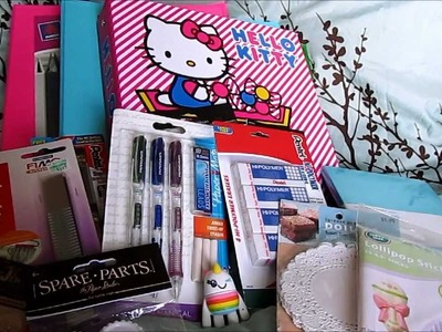 Back to School.Craft Haul: Target and Hobby Lobby