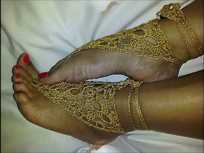 Barefoot Sandals By Crochet Hooka - Ayala Novelties