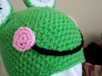 Crochet Froggy Beanie.