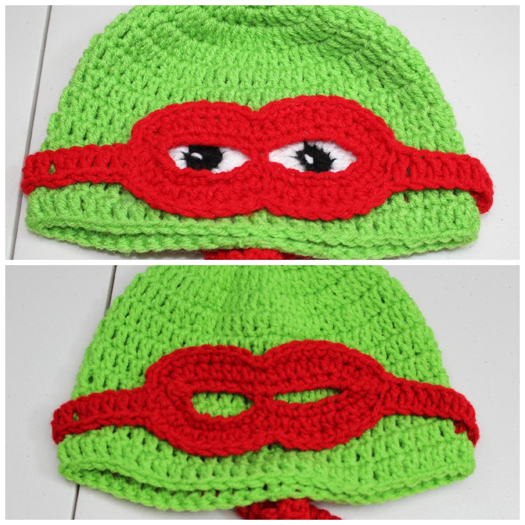 #Crochet Masked Turtle Hat  - Video 1