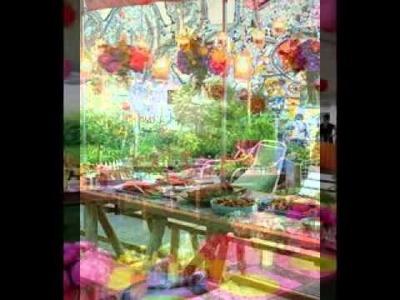 DIY Backyard party decorating ideas