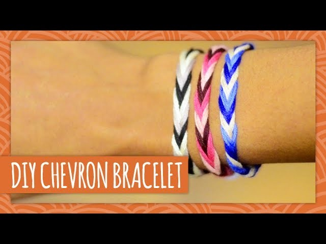 DIY Chevron Friendship Bracelet - HGTV Handmade