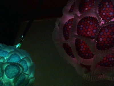DIY Cupcake Liner Lanterns (With Lights)