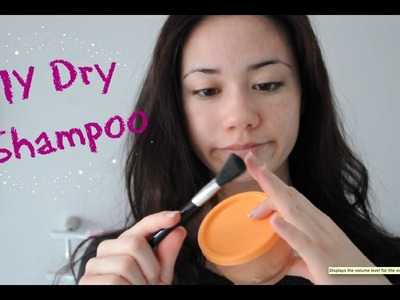 DIY Dry Shampoo (for dark hair too!)