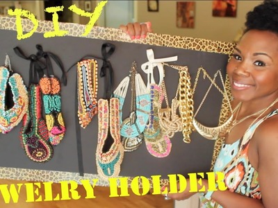 DIY Jewelry Holder || How I Stash My Jewelry (Avoid Tangled Jewelry Under 5$)