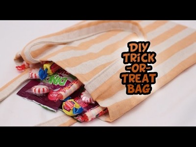 DIY Trick-or-Treat Bags with French Seams {EASY} - Whitney Sews