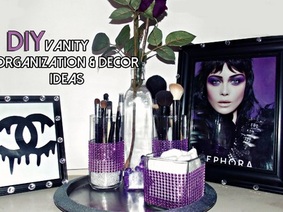 DIY Vanity Organization & Decor IDEAS!