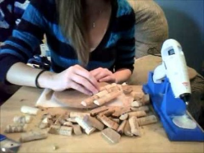 DIY: Wine Cork Trivets. Pot Holders