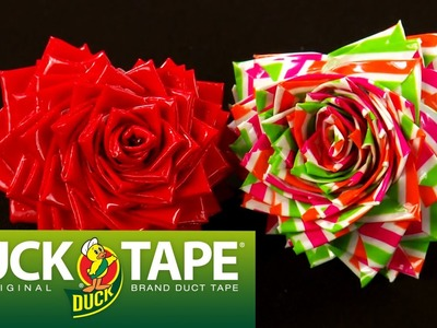 Duck Tape Crafts: How to make a Duct Tape Heart Shaped Ring