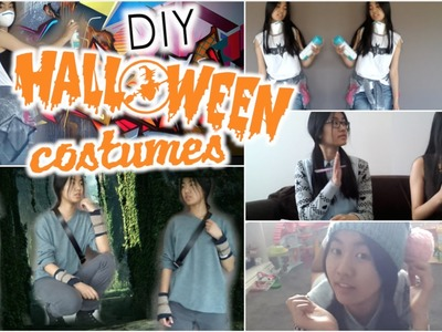 Easy DIY Halloween Costumes! The Maze Runner, Graffiti Artist, Beauty and the Geek + more!