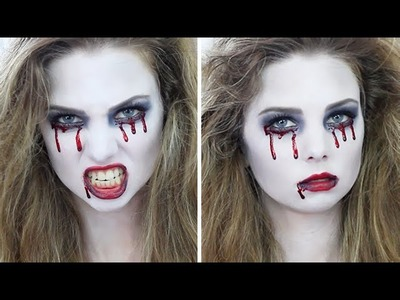 "Easy Halloween ""Crying Blood"" SFX Makeup Tutorial 